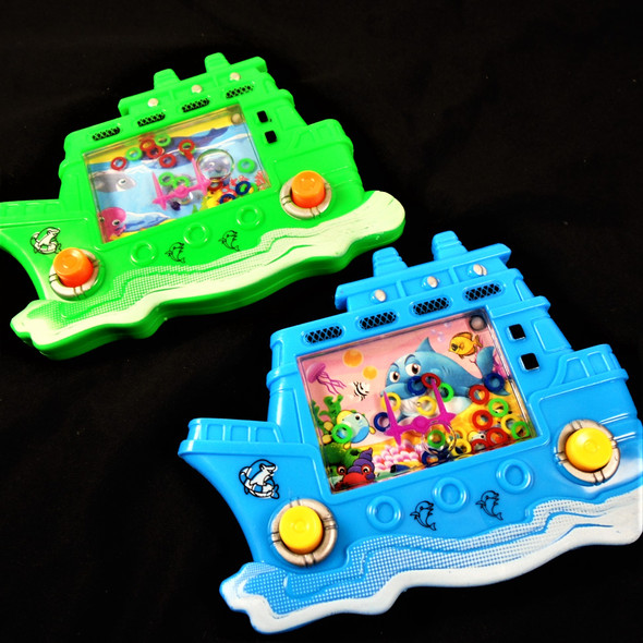 "5.5"" Noahs Ark Theme Water Toy Game Asst Colors .65 each"