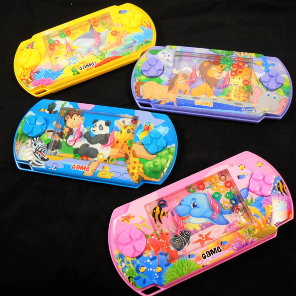 """3"""" X 6"""" Animal Theme Water Toy Game Asst Colors .75 each"""