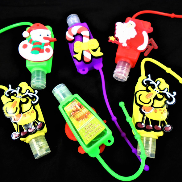 IN STOCK Fruit Scent  Pocket Size Hand Sanitizer Christmas  12 per pk .50  ea