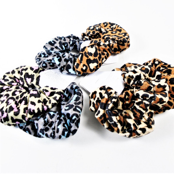 2 Pack Leopard Print  Hair Twisters Nice Quality  .54 per set