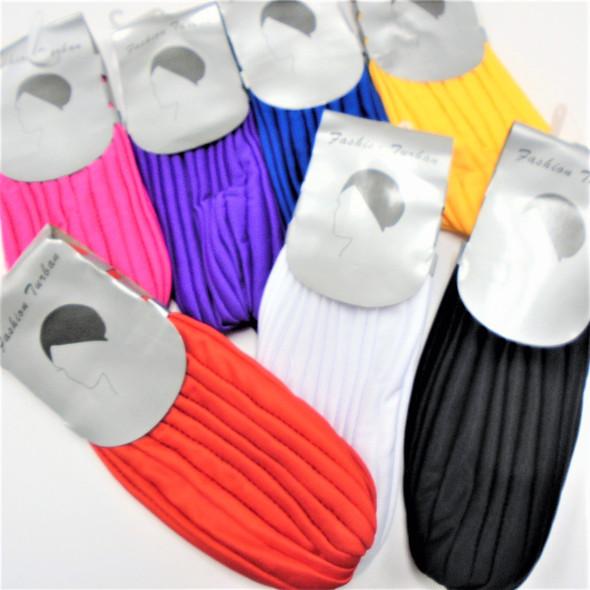 Asst Color Turbins 12 per pk  (18R)  $ 1.08 EA