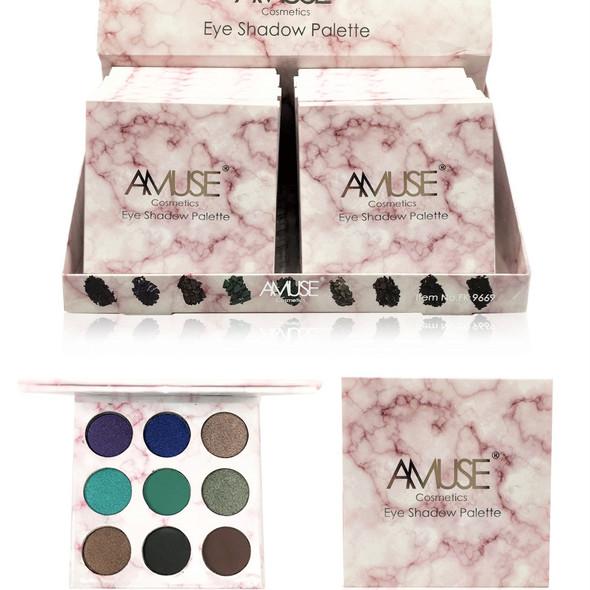 9 Circle Color Eyeshadow Pallet  12 per display bx $ 1.75 each