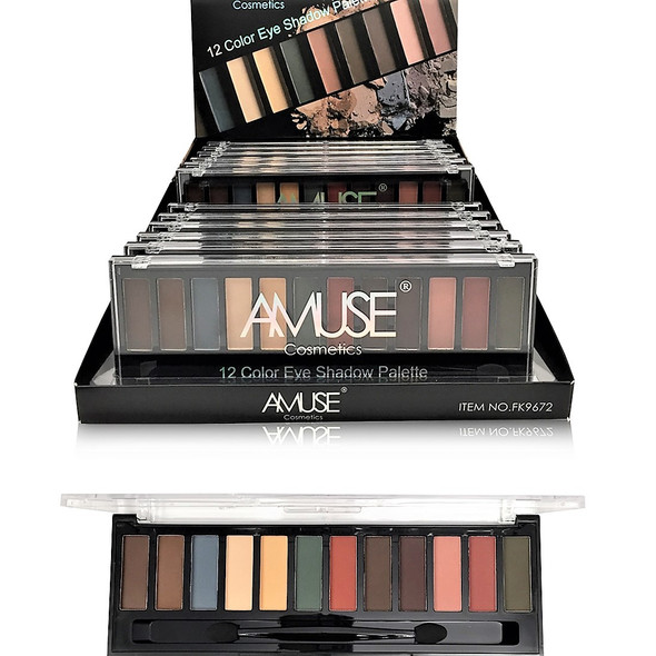 SPECIAL 12 Color Eye Shadow Palette 12 per display bx $ 2.00 each