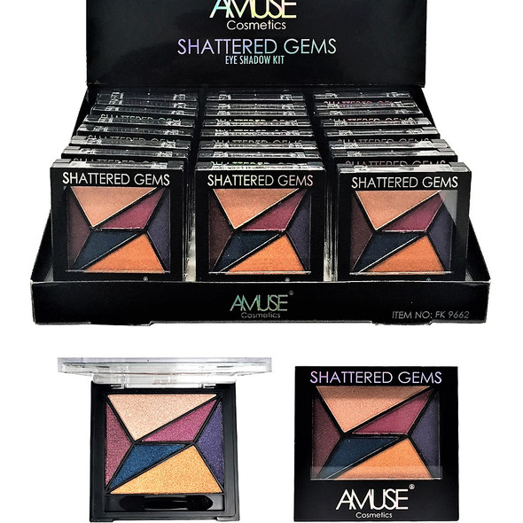 SPECIAL Shattered Gems Eye Shadow Kit 24 per display bx $ 1.25  each
