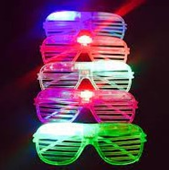 """""""SPECIAL Flashing Shutter Style Novelty Glasses .60 each"""