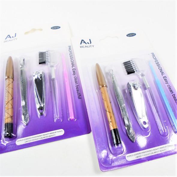 Carded Beauty Gift Set Nail Clipper,Twister,Lip Pencil & Applicators .60 per set