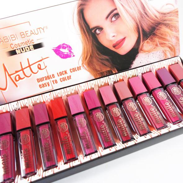 """SPECIAL 4""""  Matte Lip Gloss Mixed Colors (L015)12 per display .70 each"""