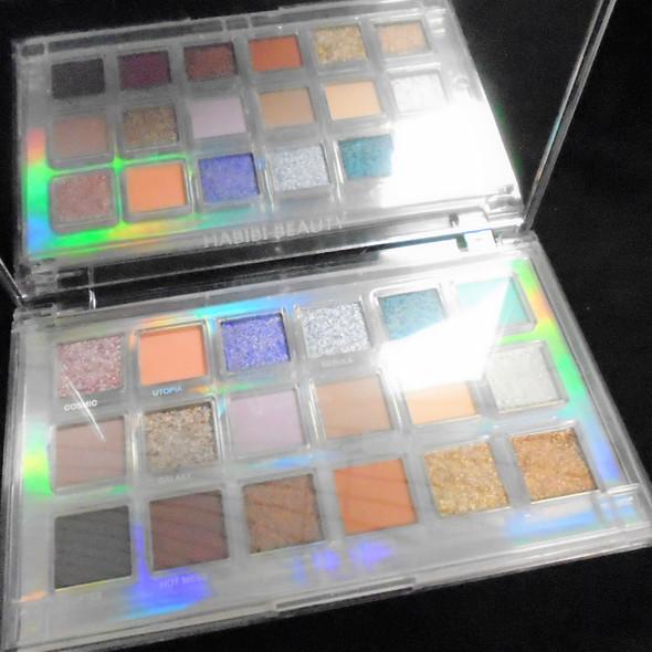 """4"""" X 6.5"""" 18 Color Mercury Retro Eye Shadow Palette  w/ Big Mirror $ 3.50 ea kit"""