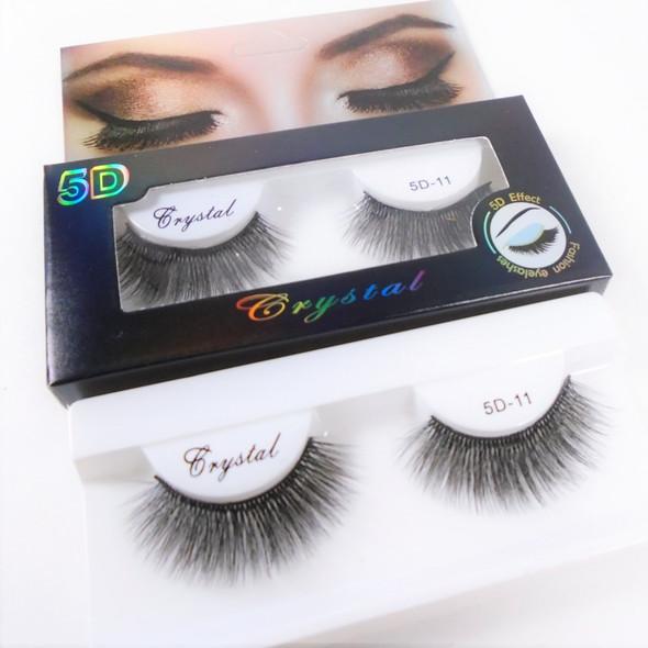 """Trending 5D-11 Effect Fashion Eye Lashes  as shown (2434) .75 per pair"