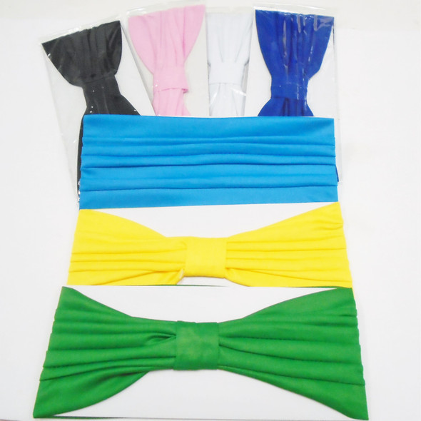 """NEW 4.5"""" X 11"""" Large Pleated Fabric Stretch Headbands  .60 each"""
