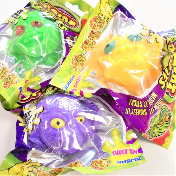 NEW Splat Zombies  12 per colorful display bx $ 1.05each