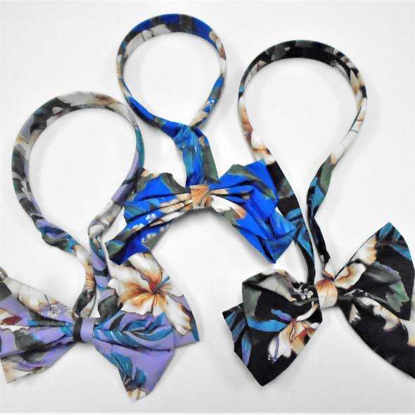 NEW Scarf Headband w/ Bow  Flower Prints  Asst Colors  .60 each