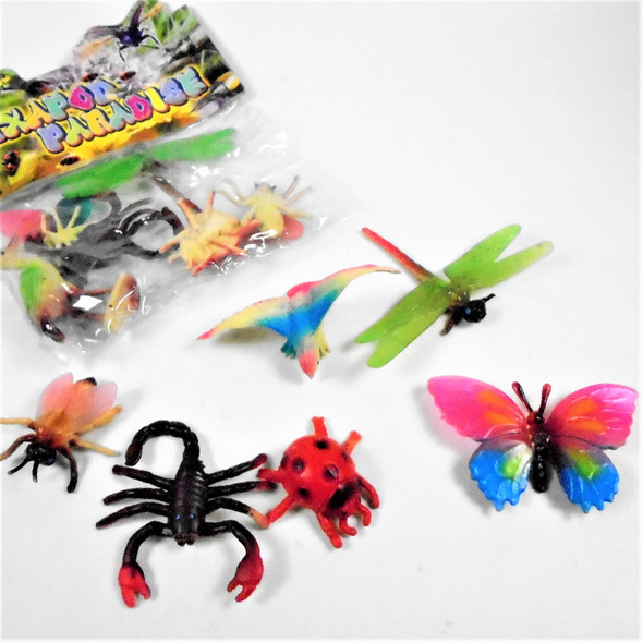 Novelty Mixed Pack of Bugs in Bag 12 bags for $ 6.60