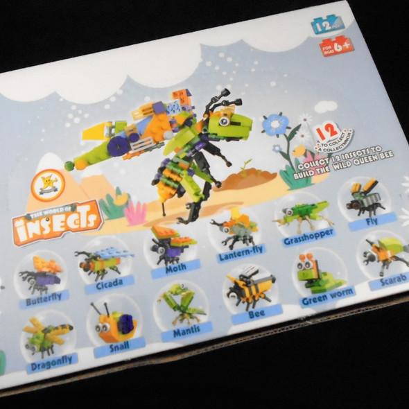 DIY 12 Style Mixed Insect Sets  12 per display bx .75 ea