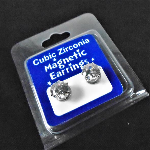 7MM Cubic Magnetic Earring  12 pairs per pk  .58 per pair