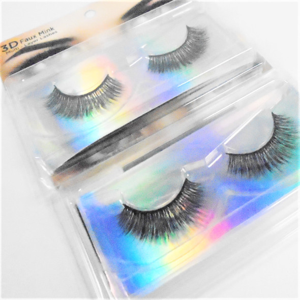 Trending 3D Effect Fashion Eye Lashes  as shown (0025) .58 per pair