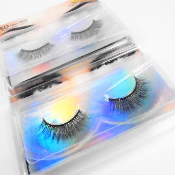 Trending 5D Effect Fashion Eye Lashes  as shown (0040) .58 per pair