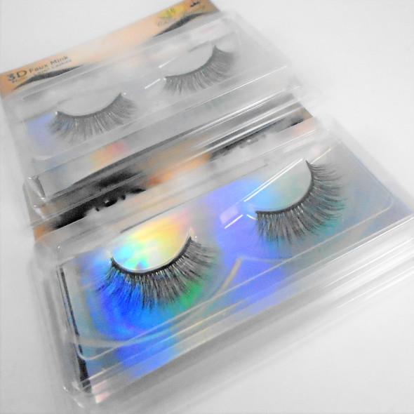 Trending 3D Effect Fashion Eye Lashes  as shown (0021) .58 per pair