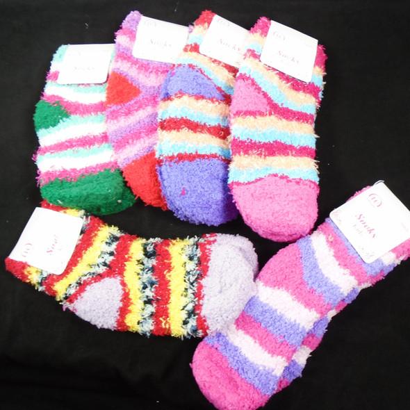 KID'S Size Thick ,Soft & Comfy COZY Socks Mixed Prints   .58 per pair