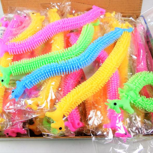 "NEW DIY 7.5"" Slinky Look Unicorn Theme Bracelets 36 per bx  .58 each"