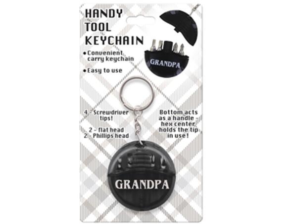 Handy Grandpa Tool Keychains 24 per  box $ 1.25 ea