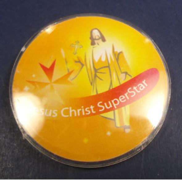 8 Pack Jesus Christ Superstar Buttons 24-8 pks per bag .35 ea