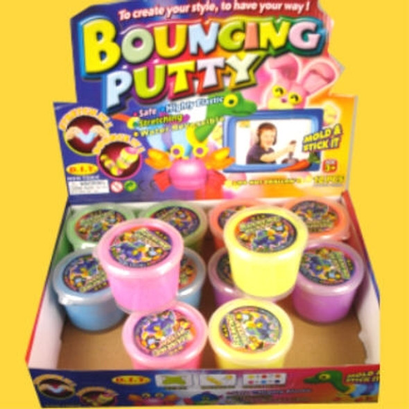 "2"" Size Fun Bouncing Putty 12 per display .79 ea"