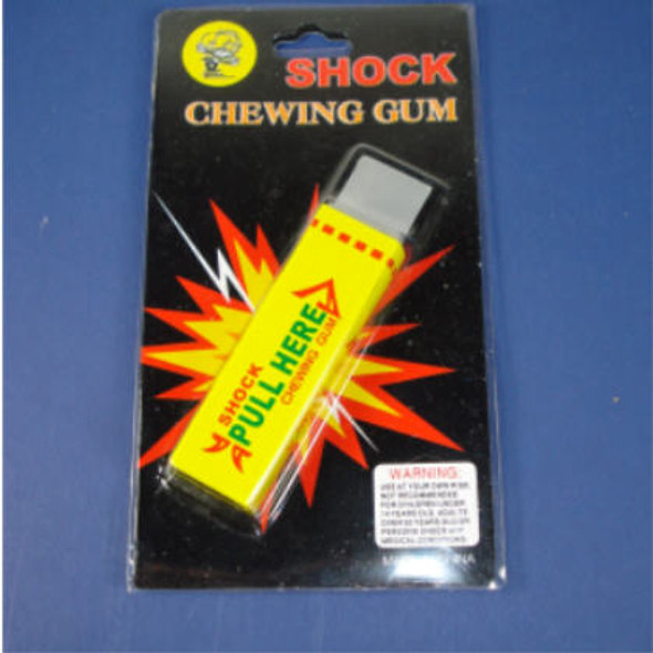 Shocking Gag Chewing Gum 24 per display bx  ON SALE  .66 ea