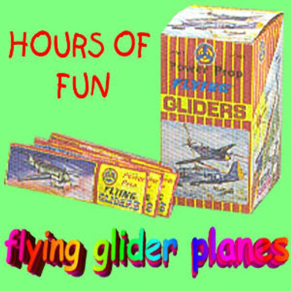 Glider Plane Unit 48 pc unit .18 ea