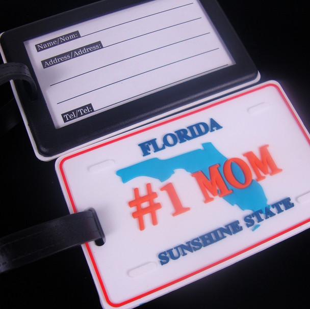 "2.5"" X 4"" Heavy Duty # 1 MOM Florida Luggage Tag 12 per pk .90 ea"