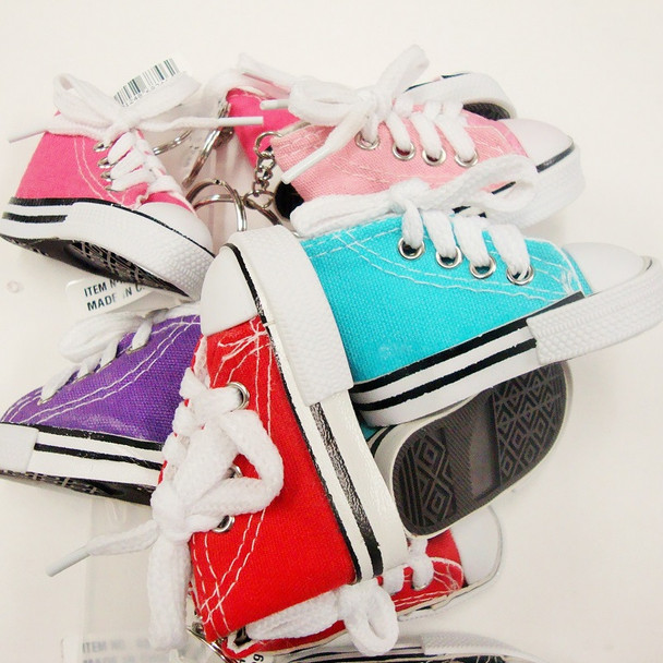 """3"""" Converse Sneaker Look Keychains Mixed Colors .66 ea"""