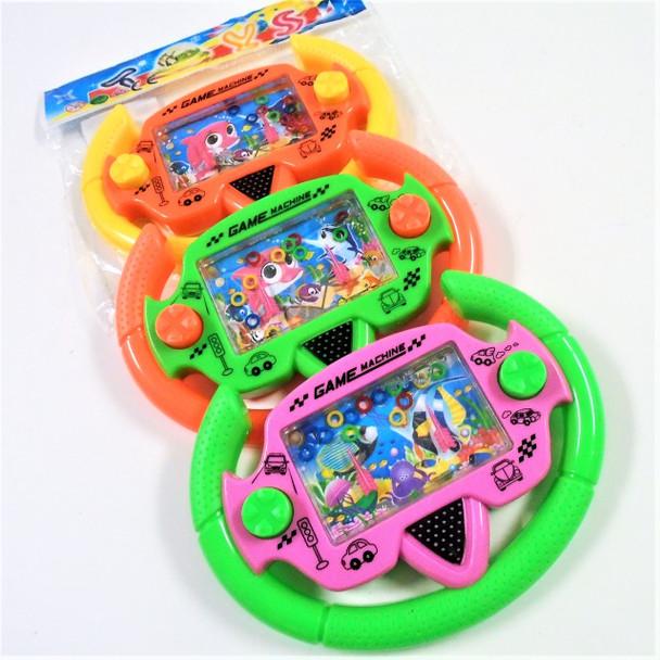 """4.5"""" X 6"""" Steering Wheel Water Games 12 per pk .79 each"""