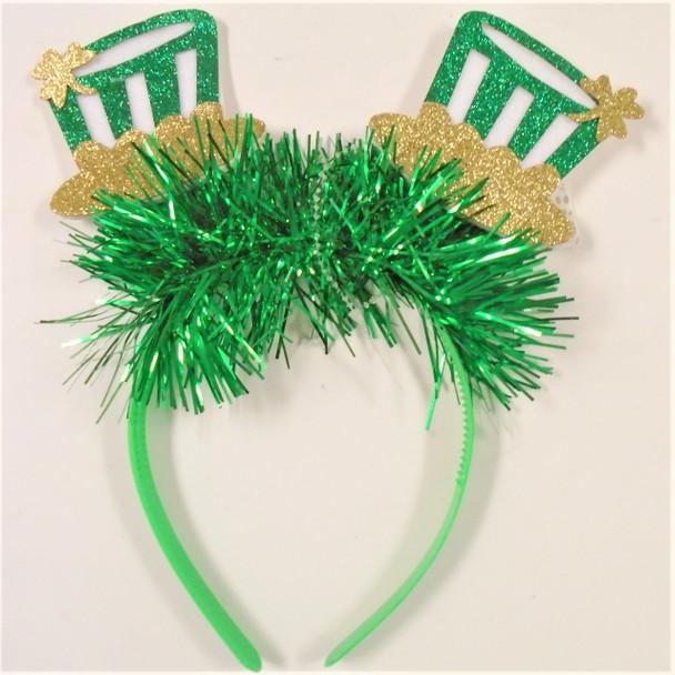 St. Patrick's Day Novelty Headbands 12 per pk .62 ea