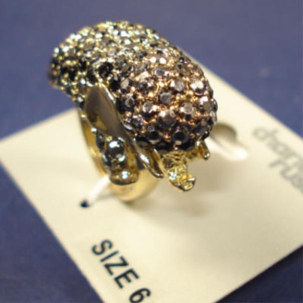 Crystal Stone Elephant Ring 3 Sizes 6 per pk on sale .25 EA