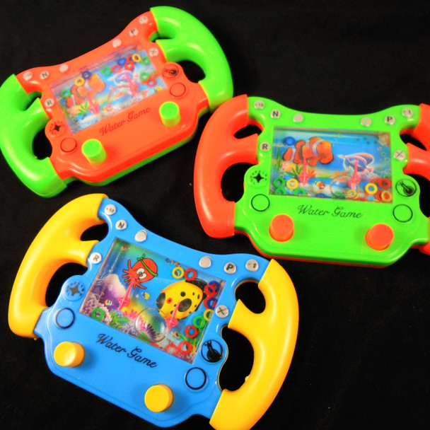 """5.5"""" Game Controller Look Water Toy Game Asst Colors .79 each"""