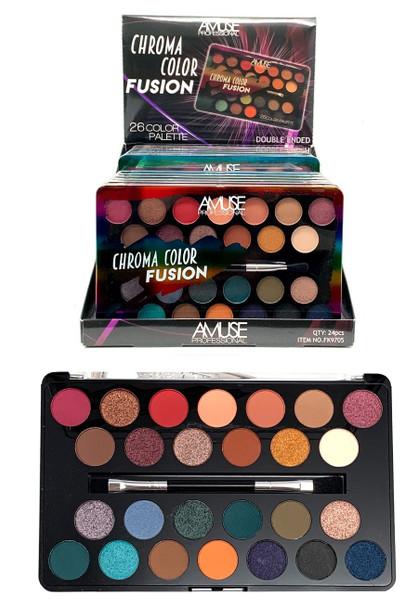 Chroma Color Fusion 26 Color Eye Shadow Palette  $ 3.50 each set
