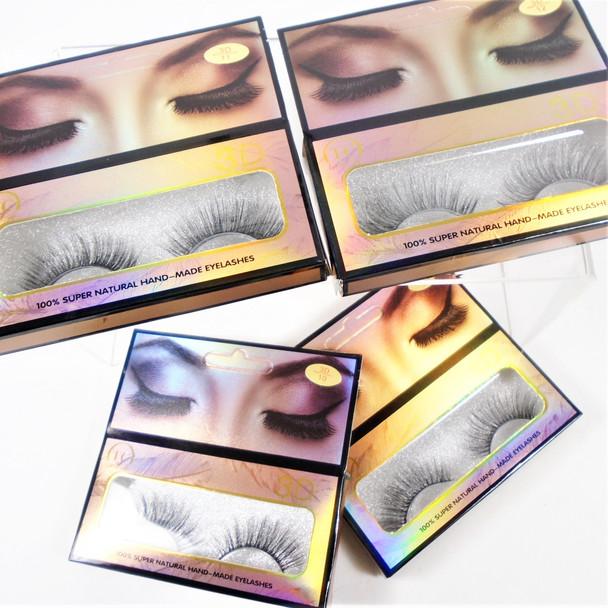 Handmade 3D Eyelashes Mixed Styles (06)  .58 per set