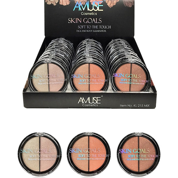 SPECIAL Face and Body Illuminator 24 per display box $ 1.25 each
