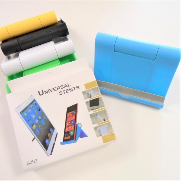 """4"""" Wide Adjustable IPAD/Cell Phone Holder 12 per pk $ .75 each"""