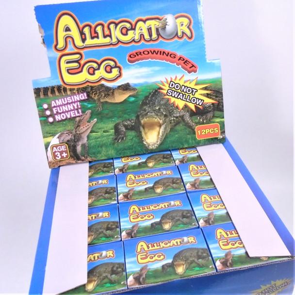 "Hatch""em Alligator 1 dz unit ind. boxed in counter display .83 each"