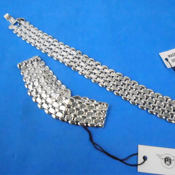 Best Quality Silver Link Fashion Bracelets 12 per pk  .95 each