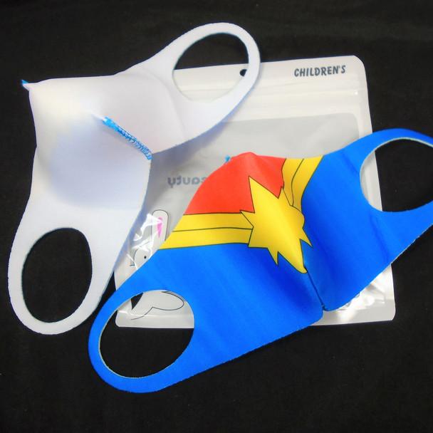 Kids Face Masks Washable & Reusable Super Hero Theme   .25  each