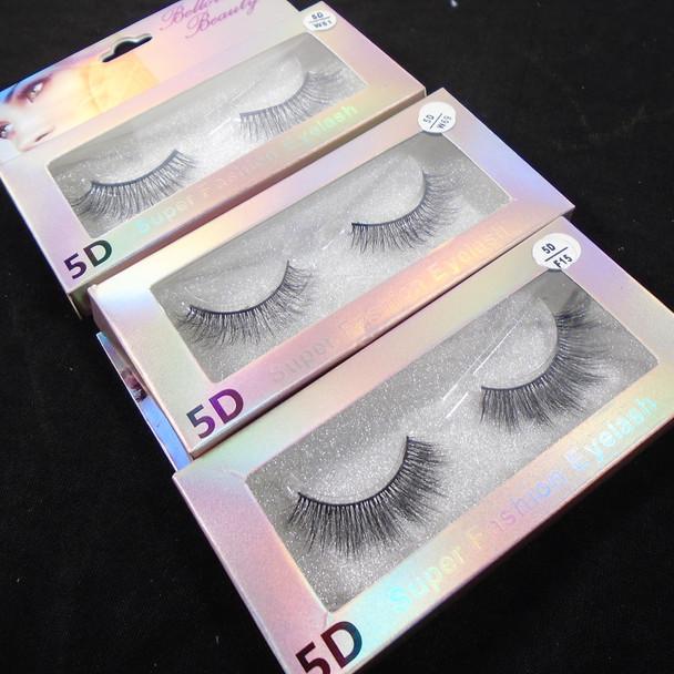 """Trending 5-D Effect Fashion Eye Lashes  as shown (394 ) .60 per pair"