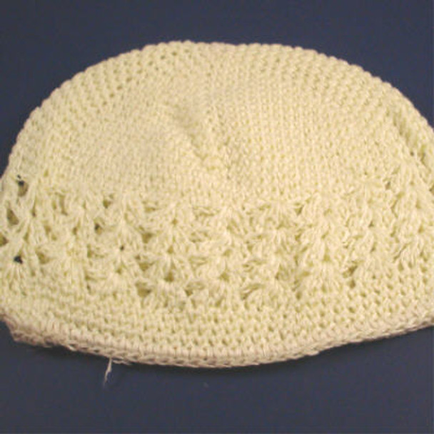 Goophi Hat All Ivory-CLOSEOUT .50 ea