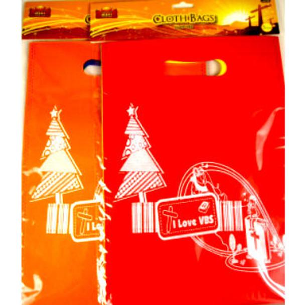 3 Pack I Love VBS Cloth Bags 24-3 pks per pack