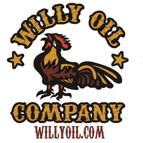 Willy Oil Company Sticker
