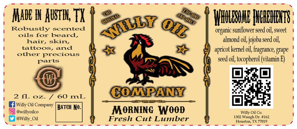Woodshop / Freshly cut lumber Beard Oil