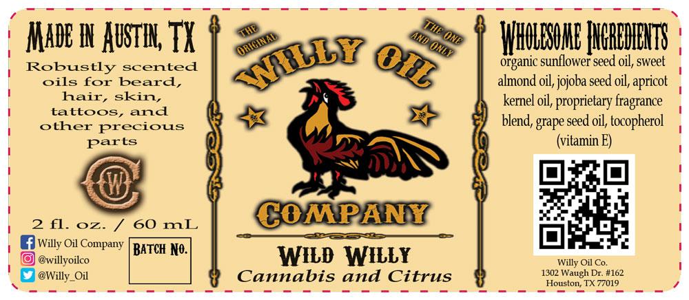 Cannabis, Lemon, Grapefruit Beard Oil