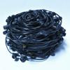 330' Black C9 Commercial String Light Bulk Reel Cord