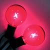 Pink G50 Bulbs (C9 base)